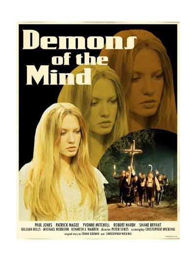 Demons of the Mind 1972 (Yellow)--Art Print