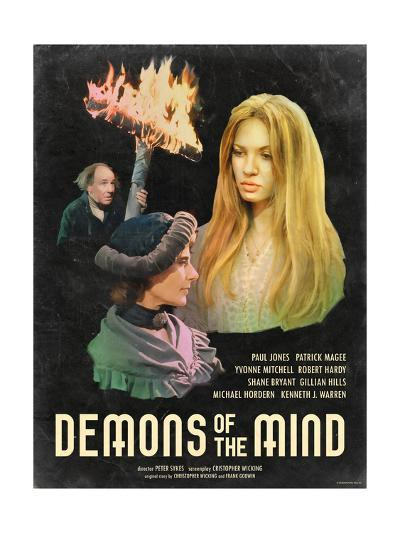 Demons of the Mind 1972--Art Print
