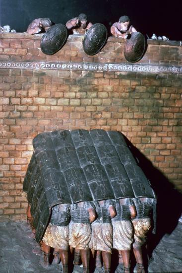 Demonstration of a Testudo-Unknown-Giclee Print