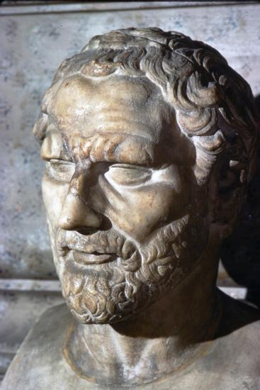 Demosthenes. Greek Orator & Statesman, 384-322 BC-Unknown-Giclee Print