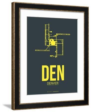 Den Denver Poster 1-NaxArt-Framed Art Print