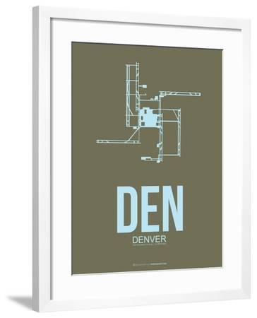 Den Denver  Poster 3-NaxArt-Framed Art Print