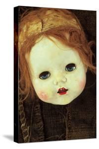 Doll Head On Sack by Den Reader