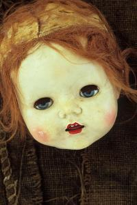 Doll Head On Sack by Den Reader