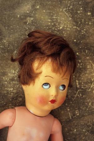 Old Female Doll by Den Reader