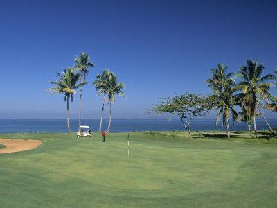 Denarau Golf Course, Danarau, Viti Levu, Fiji-Neil Farrin-Premium Photographic Print