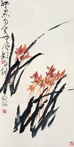 Orchids by Deng Jiafu