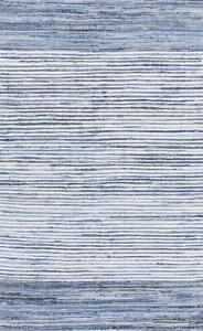Denim Area Rug - Cobalt/Sky Blue 5' x 8'