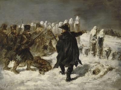 Le Maréchal Ney à la redoute de Kovno (1812)