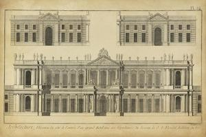 Elevation du Grand Hotel by Denis Diderot