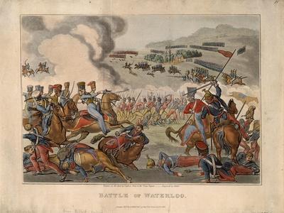 Battle of Waterloo, 1816