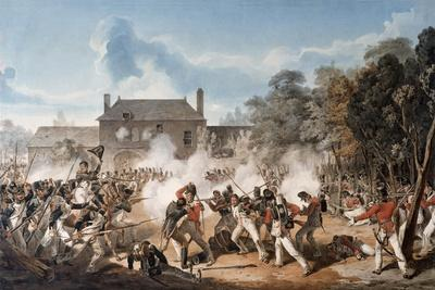 Defence of the Chateau De Hougoumont by the Flank Company, Coldstream Guards 1815, 1815