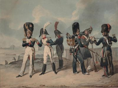 French Imperial Guard and National Guard During the Hundred Days, 1816