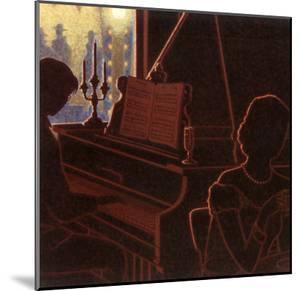 Piano Bar III by Denis Nolet