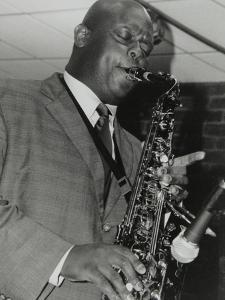 Alto Saxophonist Wessell Anderson Playing at the Fairway, Welwyn Garden City, Hertfordshire, 2004 by Denis Williams