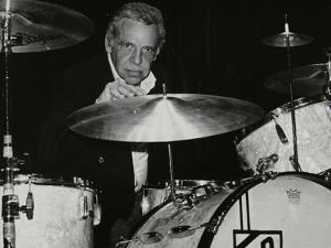 American Drummer Buddy Rich Playing at the Royal Festival Hall, London, June 1985 by Denis Williams