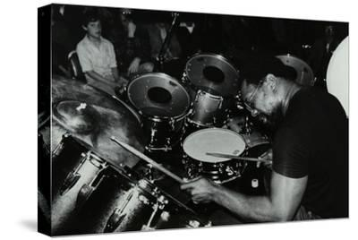 Billy Cobham Conducting a Drum Clinic at the Horseshoe Hotel, London, 1980