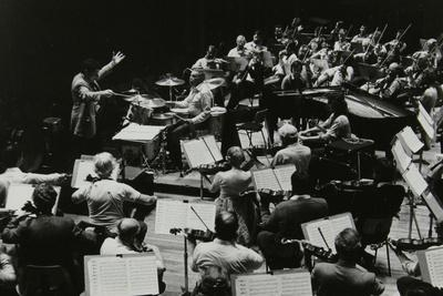 Buddy Rich and the Royal Philharmonic Orchestra in Concert at the Royal Festival Hall, London, 1985