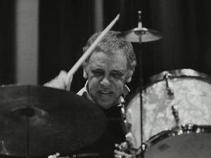 Buddy Rich in Concert at the Forum Theatre, Hatfield, Hertfordshire by Denis Williams