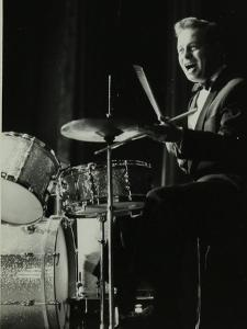 Drummer and Vocalist Mel Torme on Stage at the Bristol Hippodrome, 1950S by Denis Williams