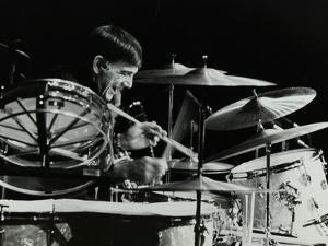 Drummer Louie Bellson Playing at the Forum Theatre, Hatfield, Hertfordshire, 1979 by Denis Williams