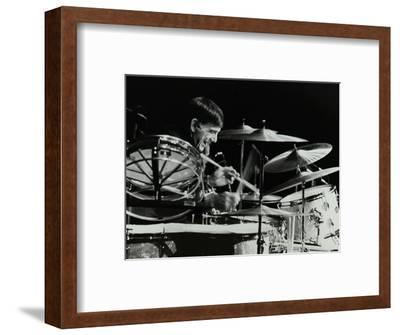 Drummer Louie Bellson Playing at the Forum Theatre, Hatfield, Hertfordshire, 1979