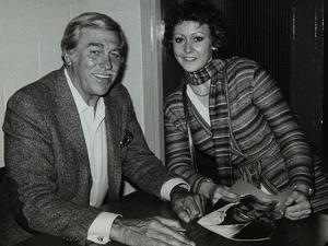 Howard Keel after His Concert at the Forum Theatre, Hatfield, Hertfordshire, 14 May 1983 by Denis Williams