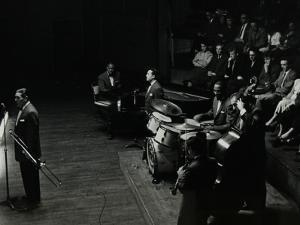 Jack Teagardens Band in Concert at Colston Hall, Bristol, 1957 by Denis Williams