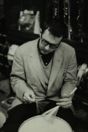 Joe Morello, Drummer with the Dave Brubeck Quartet, 1950S