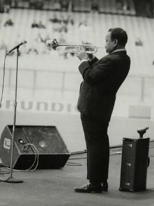 Jonah Jones Playing at the Newport Jazz Festival, Ayresome Park, Middlesbrough, July 1978 by Denis Williams