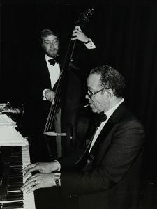 Len Skeat (Bass) and Bobby Tucker (Piano) Playing at the Forum Theatre, Hatfield, Hertfordshire, 12 by Denis Williams