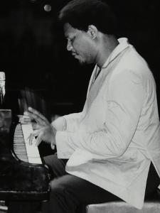 Mccoy Tyner Performing at the Newport Jazz Festival, Ayresome Park, Middlesbrough, July 1978 by Denis Williams