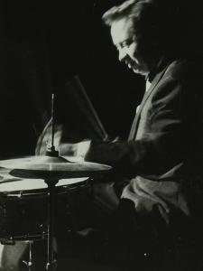 Mel Torme on the Drums at the Bristol Hippodrome, 1950S by Denis Williams
