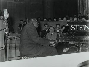 Oscar Peterson in Concert at Colston Hall, Bristol, 1955 by Denis Williams