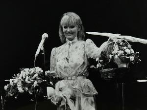 Petula Clark after a Concert at the Forum Theatre, Hatfield, Hertfordsire, 1984 by Denis Williams
