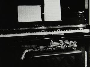 Saxophone and Piano, the Fairway, Welwyn Garden City, Hertfordshire, 7 May 2000 by Denis Williams