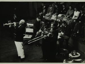 Sidney Bechet (Soprano Saxophone) in Concert at Colston Hall, Bristol, 1956 by Denis Williams