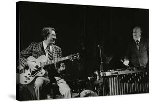 Tal Farlow (Guitar) and Red Norvo (Vibraphone) Playing at Wallingford, Oxfordshire, 1981 by Denis Williams