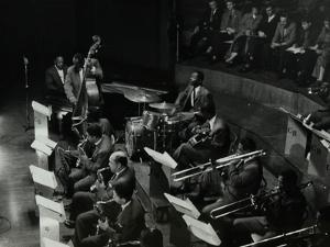 The Count Basie Orchestra in Concert at Colston Hall, Bristol, 1957 by Denis Williams
