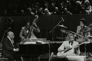 The Count Basie Orchestra in Concert at the Royal Festival Hall, London, 18 July 1980 by Denis Williams