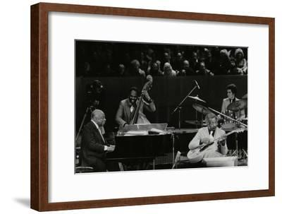 The Count Basie Orchestra in Concert at the Royal Festival Hall, London, 18 July 1980