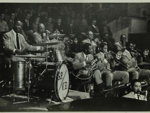 The Count Basie Orchestra in Concert, C1950S by Denis Williams