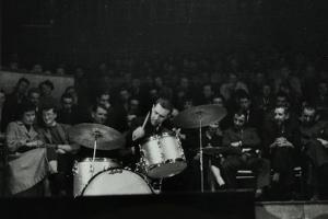 The Dave Brubeck Quartet in Concert at Colston Hall, Bristol, 1958 by Denis Williams