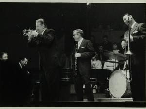 The Eddie Condon All Stars in Concert, Colston Hall, Bristol, 1957 by Denis Williams