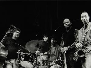 The Jj Johnson Quintet at the Hertfordshire Jazz Festival, St Albans Arena, 4 May 1993: Rufus Reid by Denis Williams