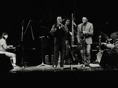 The Jj Johnson Quintet Performing at the Hertfordshire Jazz Festival, St Albans Arena, 4 May 1993
