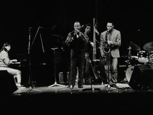 The Jj Johnson Quintet Performing at the Hertfordshire Jazz Festival, St Albans Arena, 4 May 1993 by Denis Williams