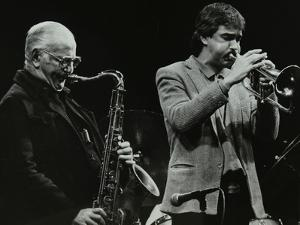The Ronnie Scott Quintet at the Forum Theatre, Hatfield, Hertfordshire, 29 November 1985 by Denis Williams