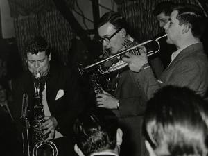 The Tubby Hayes Sextet Playing at the Co-Op Civic Centre, Bristol, 1950S. Pictured are Tubby Hayes by Denis Williams