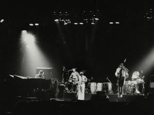 Weather Report in Concert at the Odeon, Birmingham, October 1977 by Denis Williams